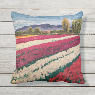"""Tulips"" Outdoor Pillow"