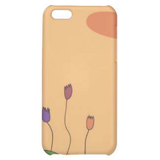 Tulips Peach Mix iPhone 5C Covers