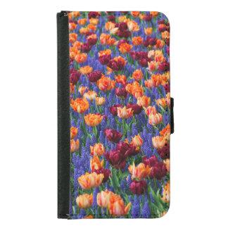 Tulips Samsung Galaxy S5 Wallet Case