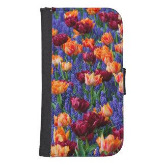 Tulips Samsung S4 Wallet Case