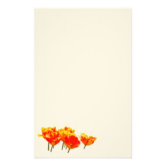 Tulips Stationery Paper