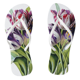 Tulips Trio Flip Flops