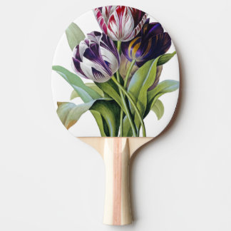 Tulips Trio Ping-Pong Paddle