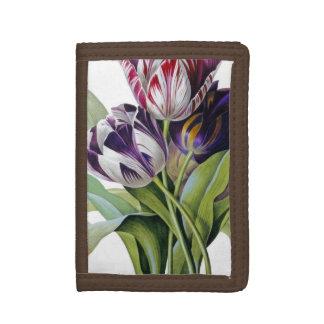 Tulips Trio Tri-fold Wallet