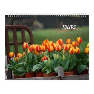 Tulips Wall Calendar