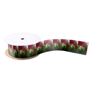 TULIPS WRAPPING PAPER/GIFT BAGS/LABELS SATIN RIBBON