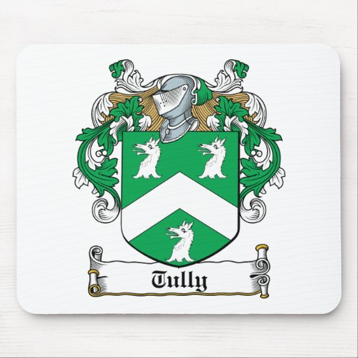 Tully Family Crest Mouse Mat