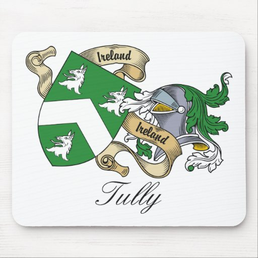 Tully Family Crest Mouse Mats