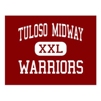 Tuloso Midway - Warriors - High - Corpus Christi Postcard