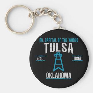 Tulsa Keychain