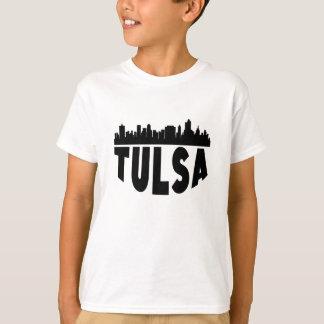 Tulsa OK Cityscape Skyline T-Shirt
