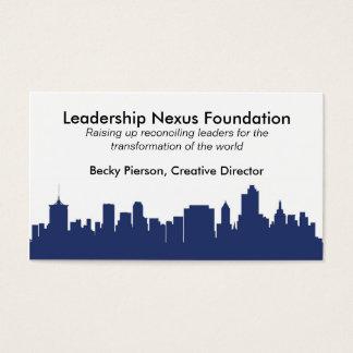 Tulsa Skyline Business Card