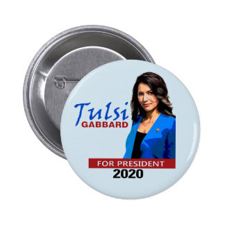 Tulsi for President 2 Inch Round Button