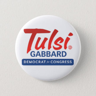 Tulsi Gabbard for Congress 2 Inch Round Button