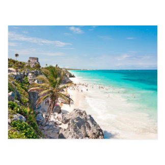 Tulum Beach Postcard