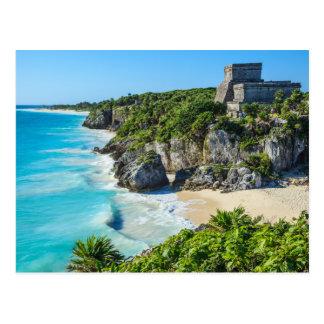 Tulum Mayan Ruins Postcard