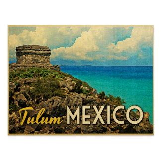 Tulum Mexico Postcard