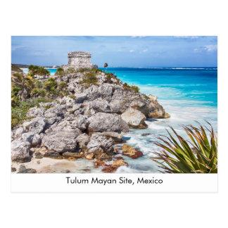 Tulum, Mexico postcard