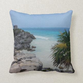 Tulum, Mexico Throw Pillow