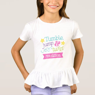Tumble, Jump and Twirl Gymnastics / Tumbling Shirt