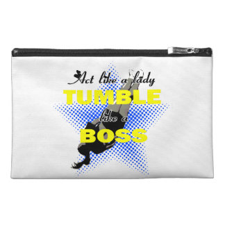 Tumble like a Boss Cheerleading Travel Accessories Bag