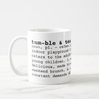 tumble & tea cafe dictionary mug
