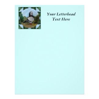 Tumbler Blue Grizzle Letterhead Template