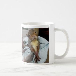 Tumbleweed and his toes coffee mug