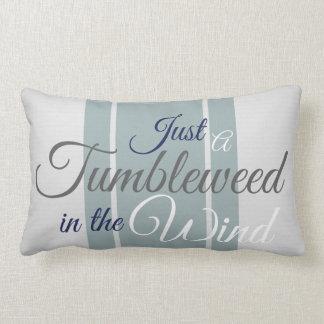 Tumbleweed in the Wind Lumbar Pillow