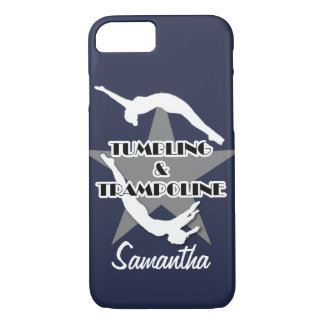 Tumbling and Trampoline iphone 7 personalized case