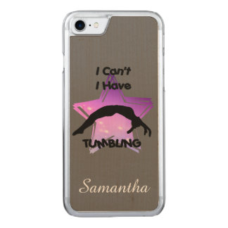 Tumbling Gymnastics Carved iPhone 7 Case