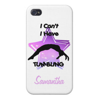 Tumbling Gymnastics Cover For iPhone 4