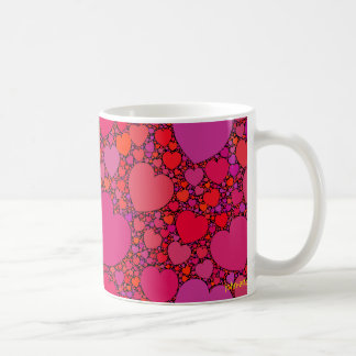 tumbling hearts 1 coffee mug