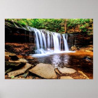 Tumbling Waterfall 19x13 Poster