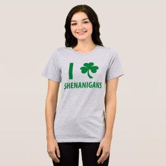 Tumblr T-Shirt I Love Shenanigans