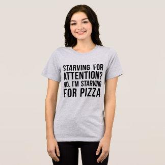 Tumblr T-Shirt I'm Starving For Pizza