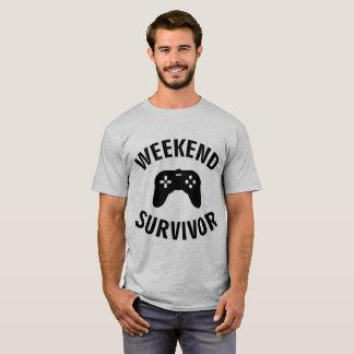 Tumblr T-Shirt Weekend Survivor Game