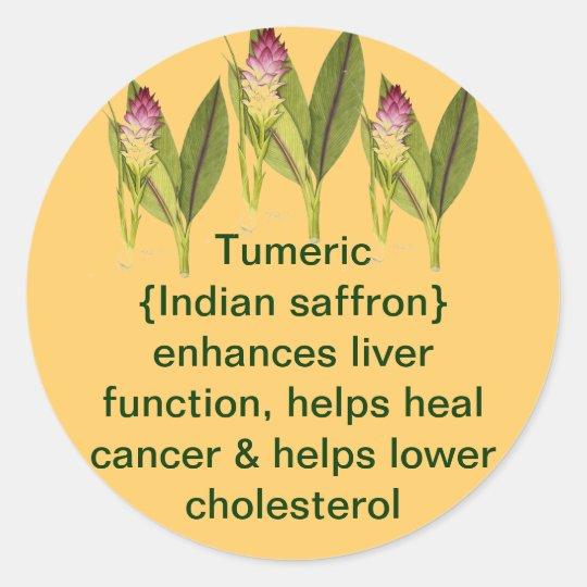 Tumeric sticker