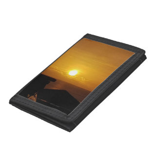 Tumon Sunset Trifold Wallets