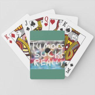 Tumor Sucks REALLY! Playing Cards