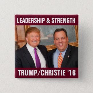 Tump/Christie 2016 2 Inch Square Button