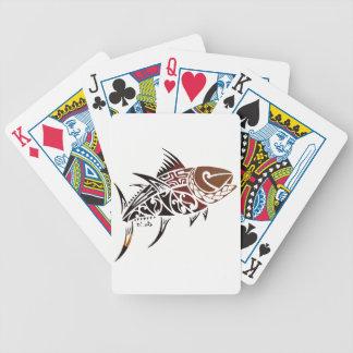 Tuna Bicycle Playing Cards