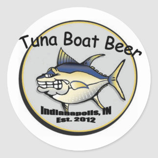 Tuna Boat Beer sticker