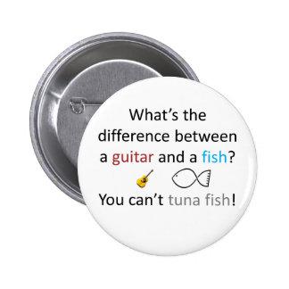 Tuna Fish Joke 2 Inch Round Button