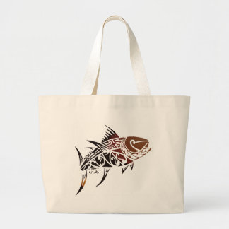 Tuna Large Tote Bag