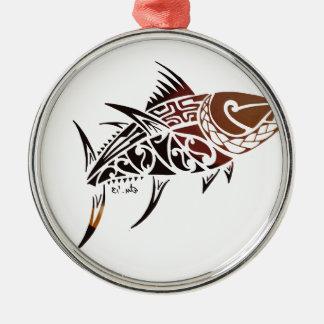 Tuna Metal Ornament