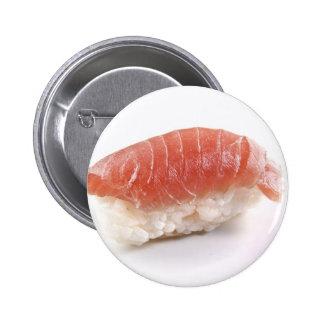 Tuna Nigiri Sushi 2 Inch Round Button