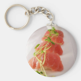 Tuna Nigiri Sushi Print Gifts Tees Mugs Cards Etc Keychain
