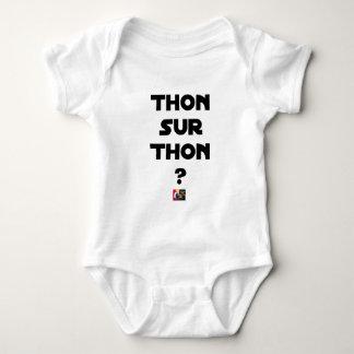 TUNA ON TUNA - Word games - François City Baby Bodysuit