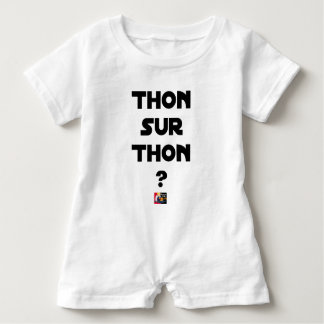 TUNA ON TUNA - Word games - François City Baby Romper